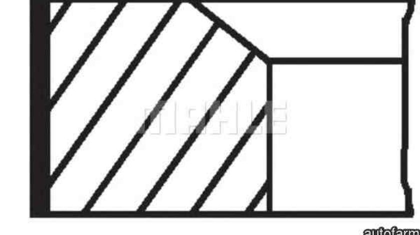 Set segmenti piston FORD FOCUS II combi DA MAHLE ORIGINAL 016 02 N0