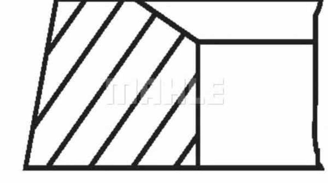 Set segmenti piston MERCEDES-BENZ C-CLASS combi S202 MAHLE ORIGINAL 001 36 N2