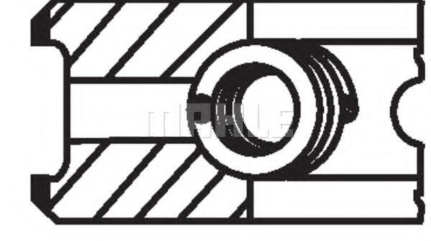 Set segmenti piston MERCEDES G-CLASS (W461) (1990 - 2016) MAHLE ORIGINAL 002 24 N0 piesa NOUA