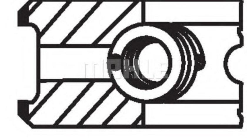 Set segmenti piston MERCEDES SPRINTER 4-t caroserie (904) (1996 - 2006) MAHLE ORIGINAL 002 24 N0 piesa NOUA