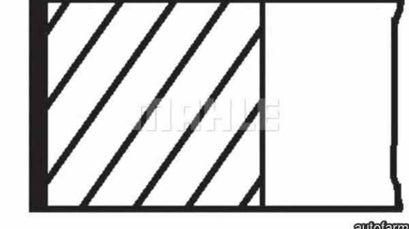 Set segmenti piston OPEL ASTRA G caroserie (F70) MAHLE ORIGINAL 011 69 N0
