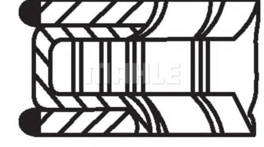 Set segmenti piston OPEL ASTRA G Combi (F35) (1998 - 2009) MAHLE ORIGINAL 012 20 N0 piesa NOUA