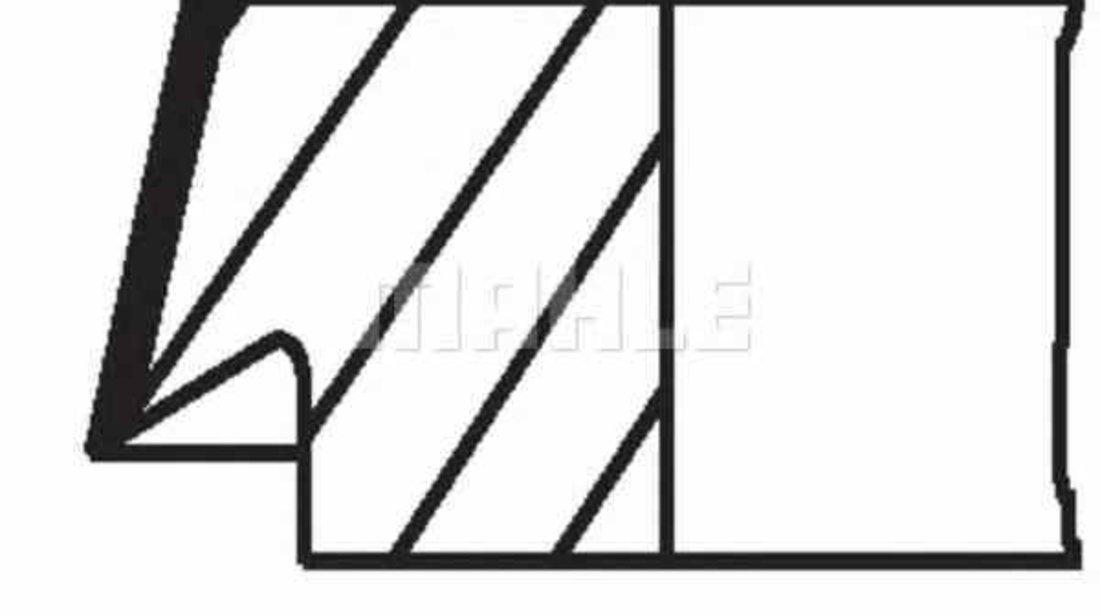 Set segmenti piston OPEL ASTRA G hatchback F48 F08 MAHLE ORIGINAL 012 20 N3