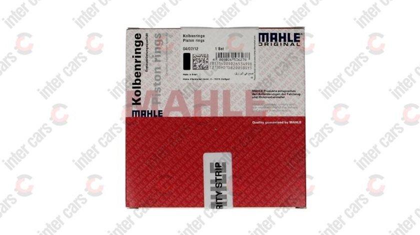 Set segmenti piston OPEL KADETT E 39 49 Producator MAHLE ORIGINAL 011 58 N1