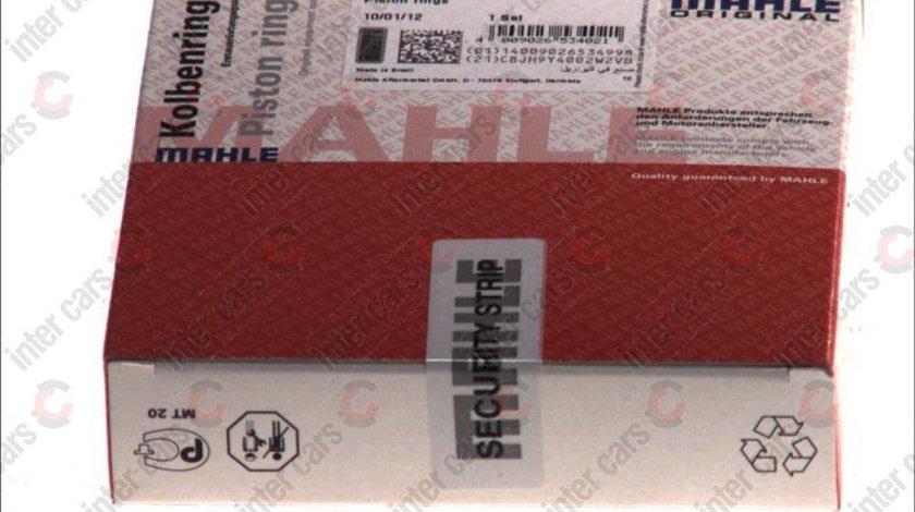 Set segmenti piston OPEL TIGRA TwinTop Producator MAHLE ORIGINAL 012 18 N0