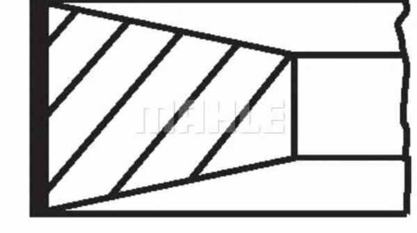 Set segmenti piston RENAULT 19 I Chamade L53 MAHLE ORIGINAL 021 07 N0