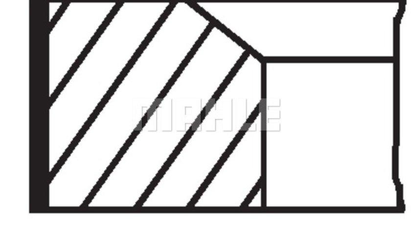 Set segmenti piston RENAULT KANGOO KC0/1 Producator MAHLE ORIGINAL 021 58 V0