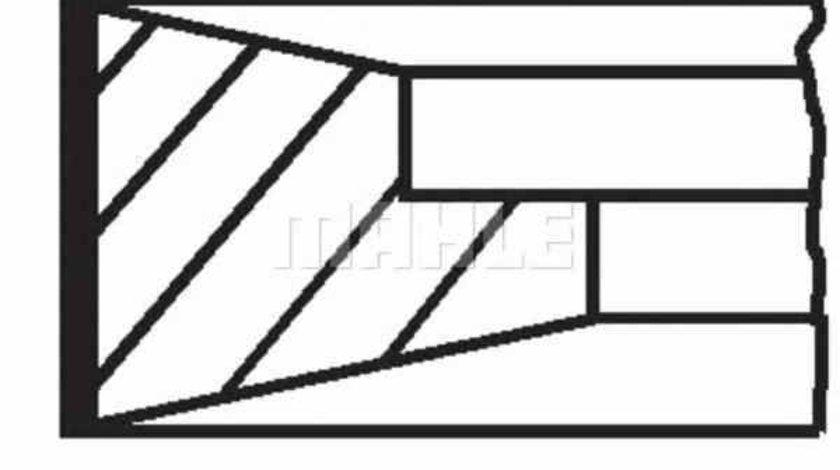 Set segmenti piston RENAULT TRUCKS Midlum MAHLE ORIGINAL 099 RS 00127 0N0
