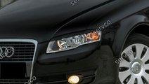 Set Sline pleoape ABS faruri Audi A4 B7 S4 RS4 200...
