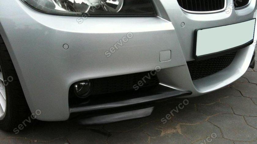 Set splittere splitere bara fata BMW E90 E91 2005-2009 doar pt bara mpachet v3