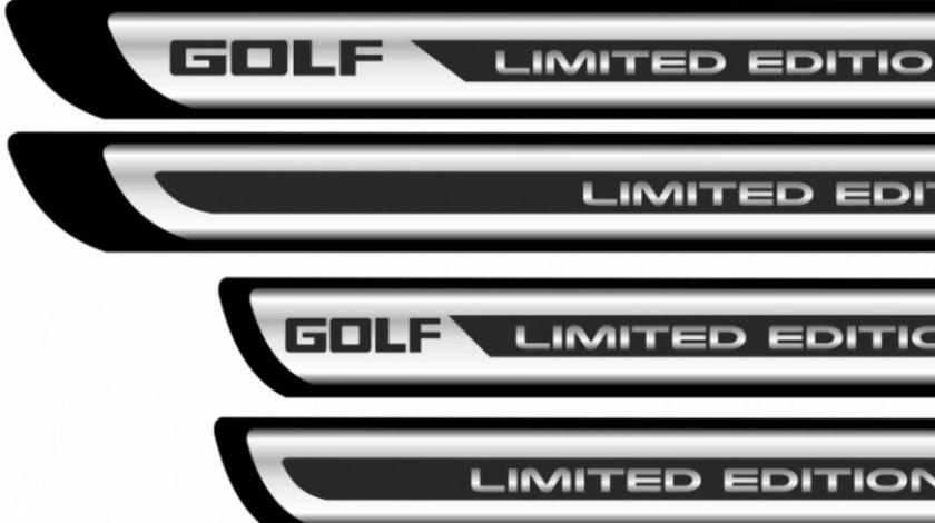 Set sticker protectii praguri CROM – Golf Limited Edition Modern Tuning