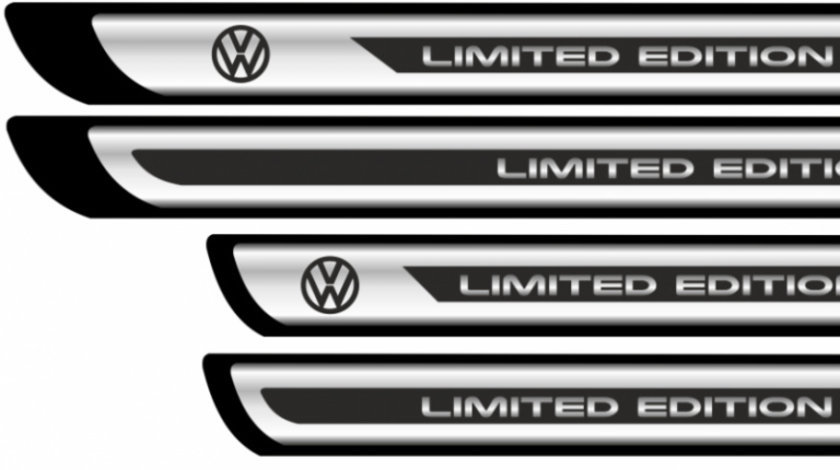 Set sticker protectii praguri CROM – VW – Limited Edition Modern Tuning