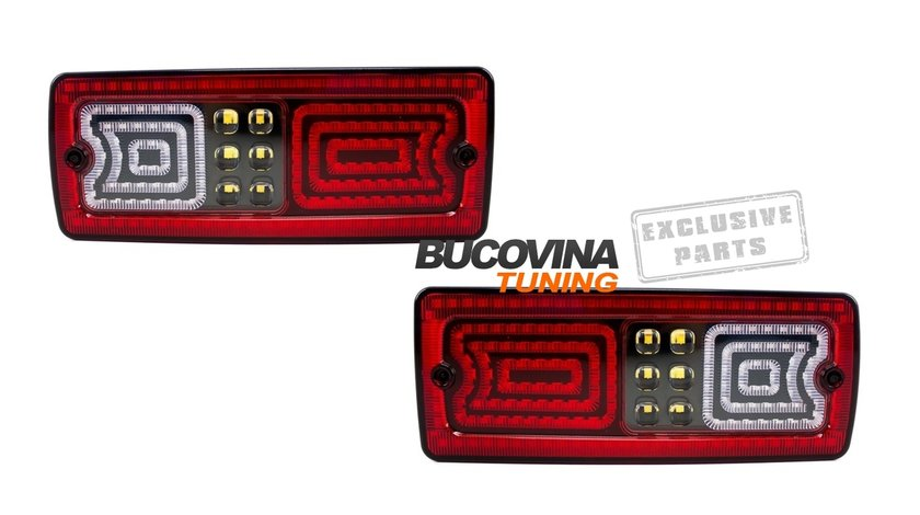 SET STOPURI LED MERCEDES BENZ W463 G-Class (1989-2015)