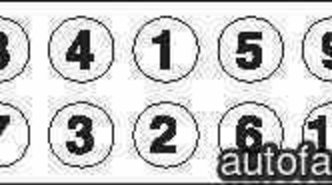 Set surub chiulasa LANCIA DEDRA SW 835 GOETZE 22-17015B