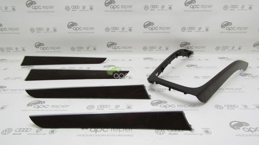 Set Trimuri / Ornamente Audi A5 8T / A4 B8 8K - Lemn mat (AJ3)