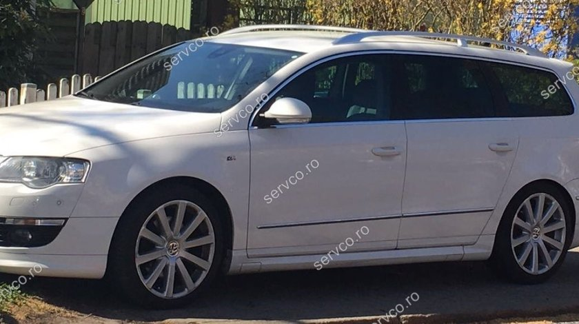 Set tuning sport Rline praguri laterale VW Passat B6 3C R-line R Line R36 2005-2010 v3