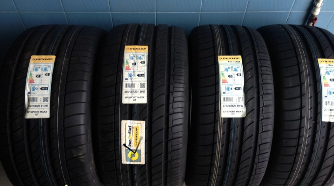 Set x5 x6 315/35R20 cu 275/40R20 Dunlop de vara noi