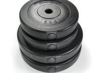 SETUL DE DISCURI CAUCIUCATE CU CIMENT 2x10 kg / 2x5 kg