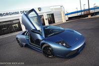 Sex on wheels: Murcielago LP640 Matte Blue