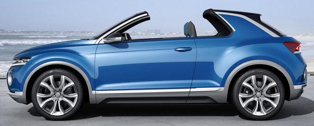 Sfarsitul lui 2017 aduce pe piata noul Volkswagen T-ROC
