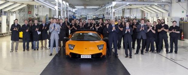 Sfarsitul unei ere glorioase: Arrivederci Lamborghini Murcielago!