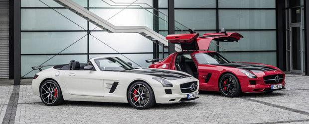 Sfarsitul unei ere: Mercedes SLS AMG isi ia adio de la industria auto