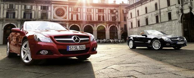 Sfarsitul V12-lui? Mercedes SL renunta la motorizarile in 12 cilindri
