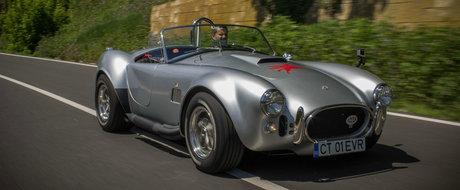 Shelby AC Cobra, poate cel mai 'periculos' muscle-car din Romania