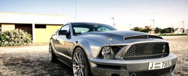 Shelby GT500 Super Snake cromat de la Chrome & Carbon