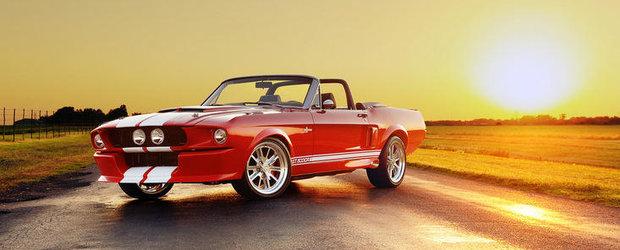 Shelby GT500CR Convertible - 780 CP intr-un ambalaj retro si exclusivist