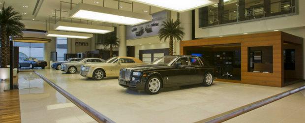 Showroom Rolls-Royce, deschis la Munchen de o companie romaneasca