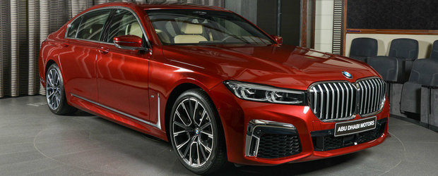 Si-a comandat BMW-ul cu cea mai mare grila din istorie. Dar a optat pentru un motor pe benzina cu patru cilindri