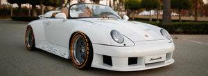 Si-a construit propriul 911 993 Speedster. Numai parbrizul l-a costat 70.000 de dolari