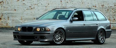 Si-a construit propriul BMW M5 Touring iar acum vrea sa-l vanda pentru atat