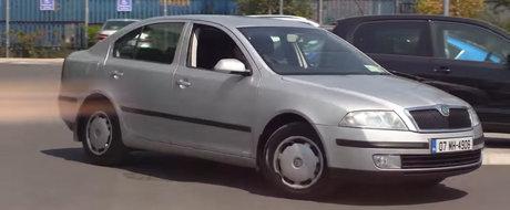Si-a cumparat o Skoda Octavia nou nouta in 2007. Acum bordul indica aproape 1 milion de kilometri rulati