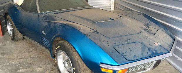 Si-a cumparat un Corvette in urma cu 45 de ani, insa nu l-a condus niciodata. Motivul: nu a avut bani de asigurare