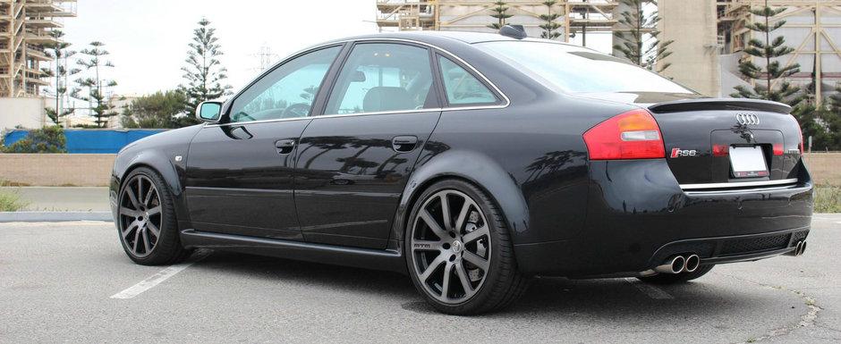 Si-a cumparat un RS6 tunat de MTM. Pretul platit pe super sedanul cu motor V8 si foarte putini km la bord