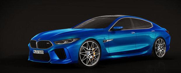 Si-a dat frau liber imaginatiei. Asa speram sa arate noul M8 Gran Coupe cand va intra in productie