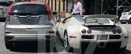 Si-a lovit Bugatti-ul de 1.001 CP la doar 15 minute dupa ce a platit 2 milioane dolari pe el. Cat il costa acum reparatiile