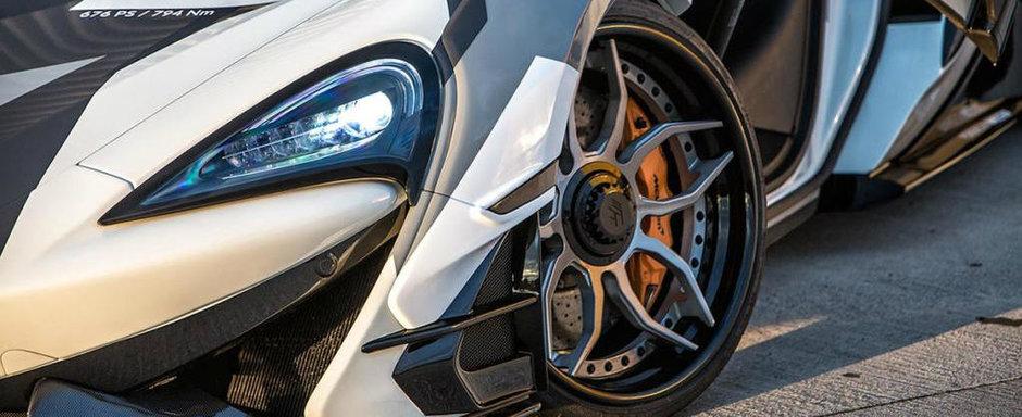 Si-a luat cel mai ieftin McLaren si l-a dat pe mana celor de la Prior Design. Cum arata masina acum