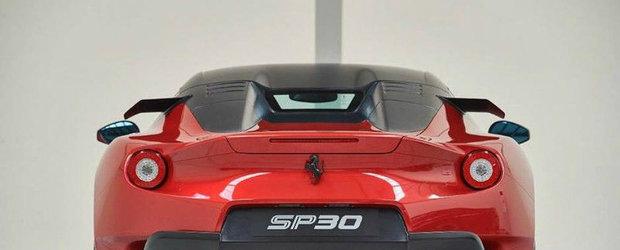 Si-a luat Ferrari unicat, dar nu l-a scos deloc in lume. Acum il vinde pe internet
