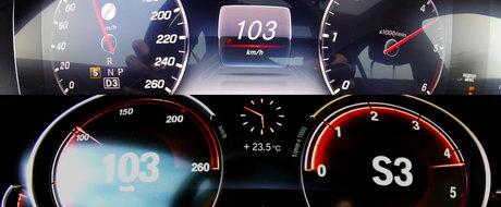 """Si-a provocat rivalul de moarte la o cursa pana la 250 de km/h. Care limuzina DIESEL ajunge prima """"in limitare"""""""
