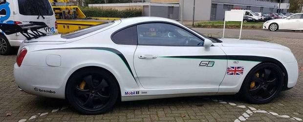 Si-a pus toti fanii SUPRA in cap dupa ce si-a facut masina sa arate ca un Bentley. FOTO