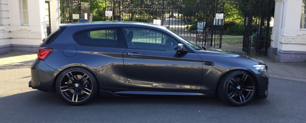 Si-a tunat vechiul BMW Seria 1 cu piese de M2, iar acum conduce o masina unica in lume. POZE REALE