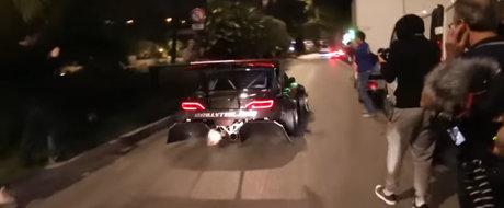 Si-a turat motorul in Monaco dar a rasunat toata Coasta de Azur. Iata cel mai galagios Nissan S14 din lume