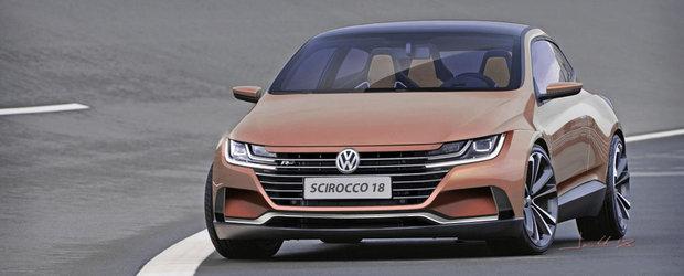 Si l-a imaginat cu fata noului Arteon, iar rezultatul e fenomenal! Daca isi iubeste fanii, VW trebuie sa construiasca acest Scirocco!