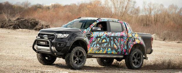 Si mai multa prezenta in off-road pentru Ford Ranger. Modificarile propuse de nemti pentru camioneta americana