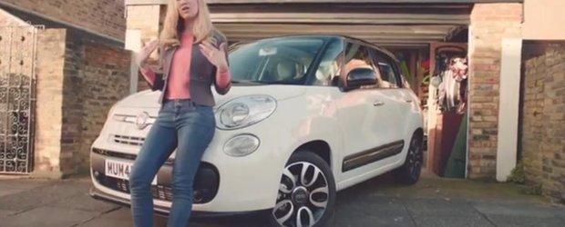 Si mamele canta RAP: reclama la Fiat 500L