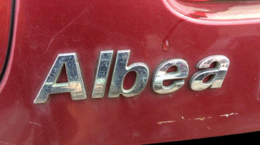 Sigla ALBEA Fiat Albea prima generatie [2002 - 2012] Sedan 1.2 MT (80 hp) 12V
