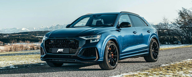Siguranta de SUV si performante de supercar. Noul AUDI RS Q8 tunat de ABT face suta in 3.5 secunde